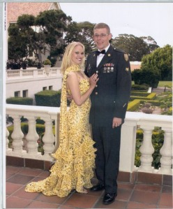 Daniel and his wife, Angeline, at an Army ball. (Phoenix New Times/Courtesty of Angeline Somers)